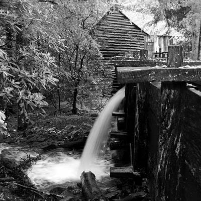 World Forgotten - Cable Mill Flume Dump by Pat Turner