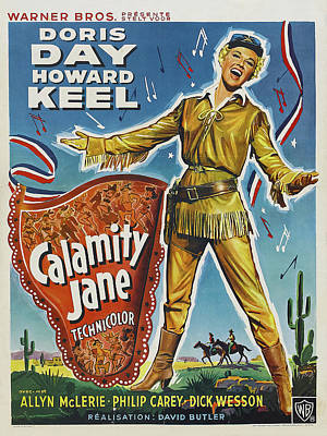 Royalty-Free and Rights-Managed Images - Calamity Jane - 1953 by Stars on Art