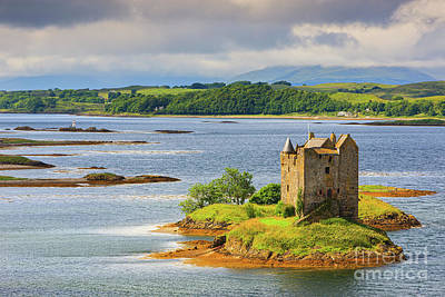 Photograph - Castle Stalker by Henk Meijer Photography