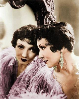 Royalty-Free and Rights-Managed Images - Claudette Colbert by Stars on Art