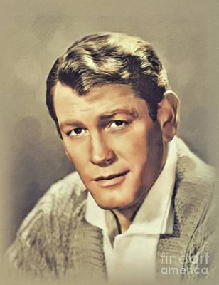 Scifi Portrait Collection - Earl Holliman, Vintage Actor by John Springfield