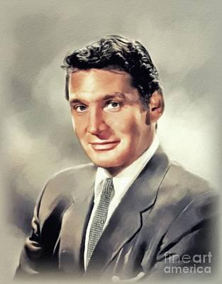 Beers On Tap - Gene Barry, Vintage Actor by John Springfield