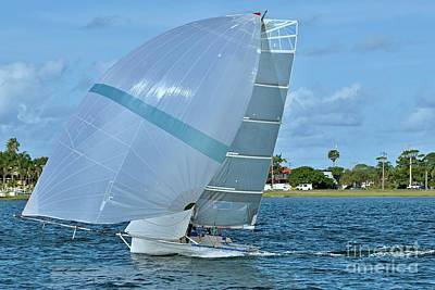 Sports Royalty-Free and Rights-Managed Images -  High  School  Sailing  Championships.  by Geoff Childs