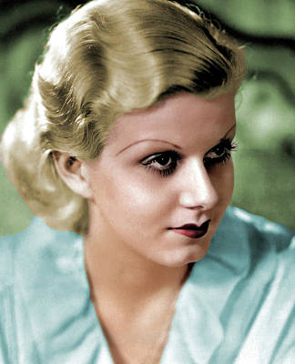 Coffee Signs Royalty Free Images - Jean Harlow Royalty-Free Image by Stars on Art