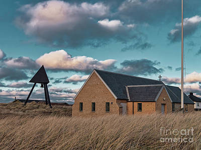 Aromatherapy Oils Royalty Free Images - Lildstrand tiny church in Thy rural Denmark Royalty-Free Image by Frank Bach