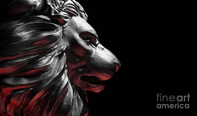 Modern Sophistication Beaches And Waves Royalty Free Images - Lion statue, a stone sculpture. Concept of a guard, power and proud animal. Royalty-Free Image by Michal Bednarek