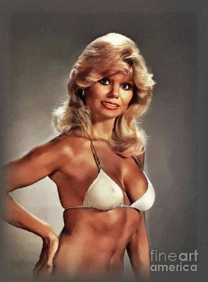 Royalty-Free and Rights-Managed Images - Loni Anderson, Actress by John Springfield