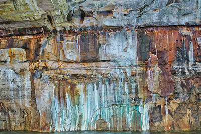 Olympic Sports - Mineral Stained Cliff by Dean Pennala