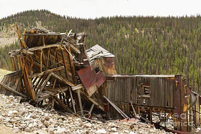 Photograph - Mining History by Tonya Hance