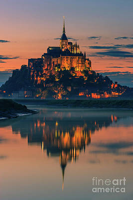 Photograph - Mont Saint Michel, France by Henk Meijer Photography