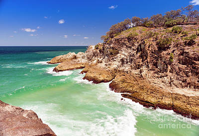 Royalty-Free and Rights-Managed Images - North Gorge Stradbroke Island by THP Creative