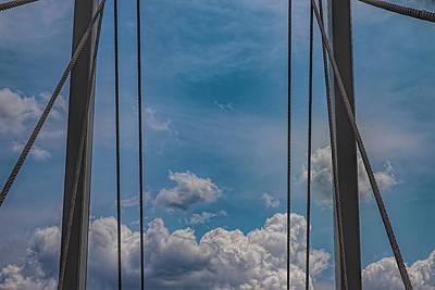 School Teaching - Pedestrian Bridge Support Cables by Robert Ullmann