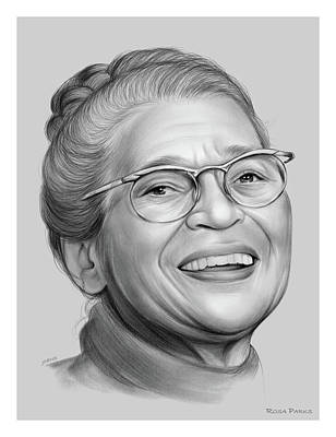 Royalty-Free and Rights-Managed Images - Rosa Parks by Greg Joens