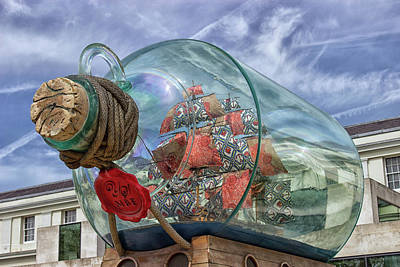 All You Need Is Love - Ship In a Bottle by Martin Newman