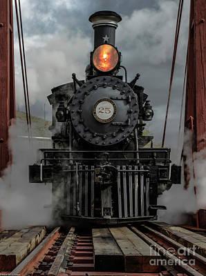 Everett Collection -  Steam Locomotive  by Mitch Shindelbower