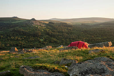 Anne Geddes - Stunning image of wild camping in English countryside during stu by Matthew Gibson