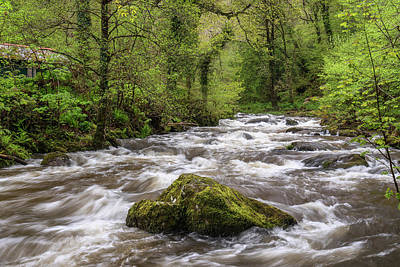 Firefighter Patents Royalty Free Images - Stunning Spring landscape image of Watrersmeet in Devon England  Royalty-Free Image by Matthew Gibson