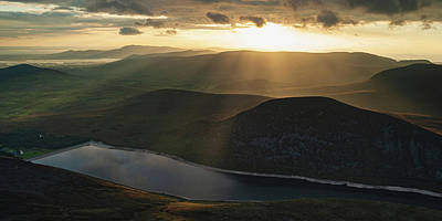 Photograph - Sunset in the Silent Valley by Darren Forde