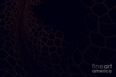 Surrealism Royalty-Free and Rights-Managed Images - Surreal abstract fractal by Beautiful Things
