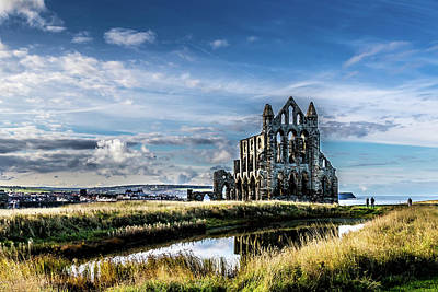 Kim Fearheiley Photography Royalty Free Images - Whitby abbey Royalty-Free Image by Chris Smith