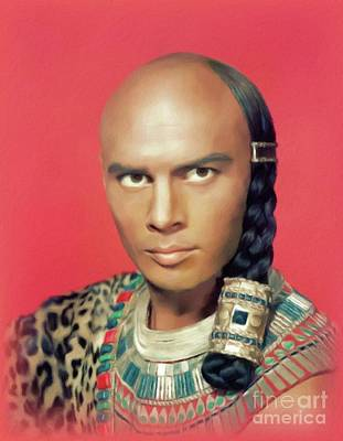 Royalty-Free and Rights-Managed Images - Yul Brynner, Actor by John Springfield