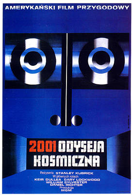 Royalty-Free and Rights-Managed Images - 2001 - A Space Odyssey Polish poster Kubrick 1968 by Stars on Art