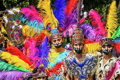 Lucille Ball Royalty Free Images - 2019 Dia de Muertos Parade 6 Royalty-Free Image by Steve Tafoya