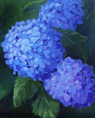 Painting - 2020 Blues by Jeri McDonald