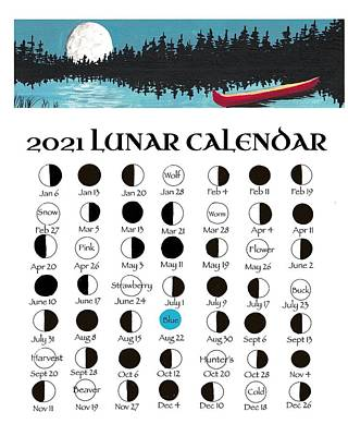 Painting - 2021 Lunar Calendar - 2 by Debbie Axiak