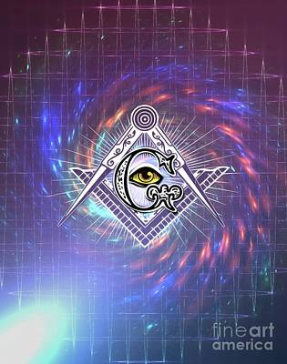 Royalty-Free and Rights-Managed Images - Freemason Symbolism by Esoterica Art Agency