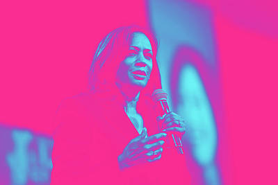 Royalty-Free and Rights-Managed Images - Portrait of Vice President Kamala Harris by Gage Skidmore by Celestial Images