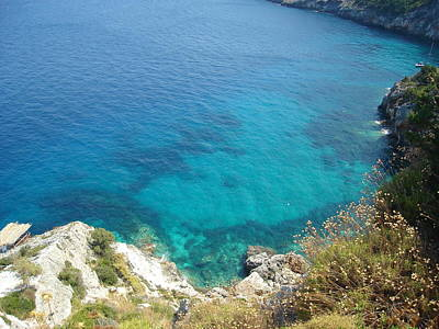 Open Impressionism California Desert - Zakynthos Island Greece by GiannisXenos Photography