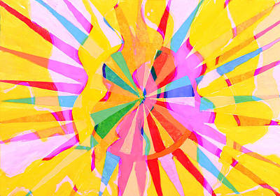 Royalty-Free and Rights-Managed Images - Abstract watercolor creative drawing by Julien