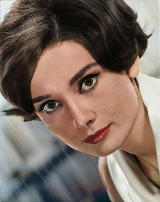 Royalty-Free and Rights-Managed Images - Audrey Hepburn by Stars on Art