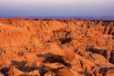 Moody Trees - Badlands South Dakota  by Duane Klipping