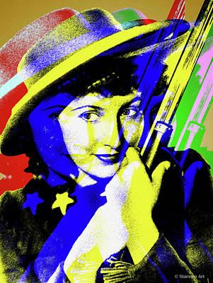 Digital Art - Barbara Stanwyck by Stars on Art