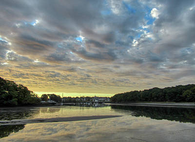 Travel Rights Managed Images - Bass River Sunrise Royalty-Free Image by Scott Hufford