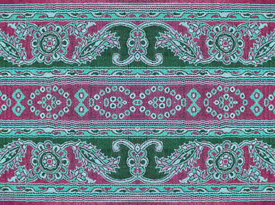 Curated Travel Chargers - Beautiful, arab, arabic, arabian, arabesque fabric background, paisley, oriental, geometric, carpet, baroque, indian, iranian, persian abstract design.  by Julien