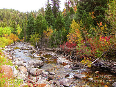 Thomas Kinkade Rights Managed Images - Cache la Poudre River Royalty-Free Image by Gayle Melges