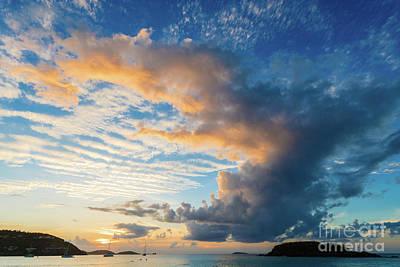 Mellow Yellow - Caribbean Sunset by Don Landwehrle