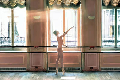 Lucille Ball - Dancer by Howard Dando