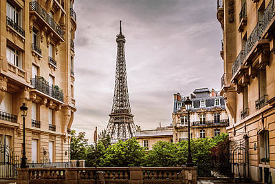 Royalty-Free and Rights-Managed Images - Eiffel View by Andrew Soundarajan