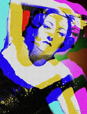 Digital Art - Gloria Swanson by Stars on Art