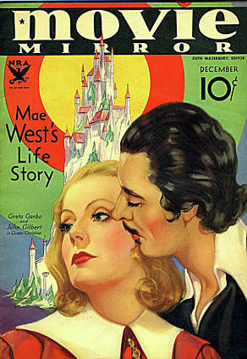 Mixed Media Royalty Free Images - Greta Garbo and John Gilbert Royalty-Free Image by Stars on Art