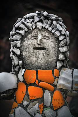 Olympic Sports - India, Punjab, Chandigarh, The Rock Garden, Surreal Figure by Glen Allison
