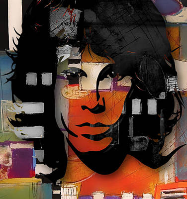 Mixed Media - Jim Morrison Of The Doors by Marvin Blaine
