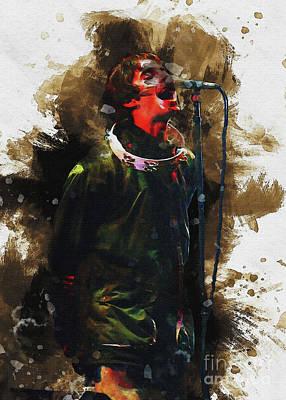 David Bowie - Liam Gallagher by Gunawan RB