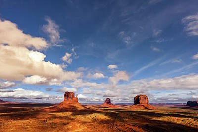 Royalty-Free and Rights-Managed Images - Monument Valley  by Andrew Soundarajan