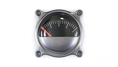 School Teaching - Needle Glass Gauge Meter by Allan Swart