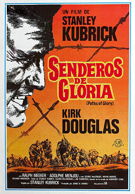Royalty-Free and Rights-Managed Images - Paths of Glory, with Kirk Douglas, 1957 by Stars on Art